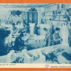 Postales: SARRIÁ BARCELONA ESCUELAS SALESIANAS - Nº 35 TALLER ESCUELA DE VACIADO - POSTAL SIN CIRCULAR. Lote 30054064