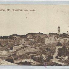 Postales: BISBAL DEL PENADÉS-VISTA PARCIAL(REF-1165). Lote 30062359