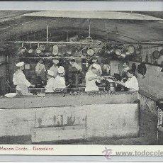 Postales: BARCELONEE-CUISINE DE LA MAISON DOREÉ(REF-1194). Lote 30062477