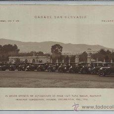 Postales: BARCELONA-GARAGE SAN GERVASIO(REF-1196). Lote 30062486