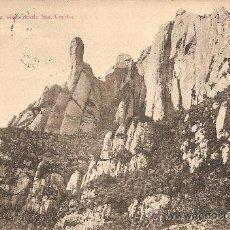 Postales: MONTSERRAT - CAVALL BERNAT - MATASELLOS MONASTERIO - CIRCULADA 1915. Lote 30195144