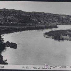 Postales: MORA DE EBRO (TARRAGONA).- RIO EBRO. VISTA DE SUBARRECH. Lote 30255459