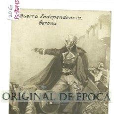 Postales: (PS-26445)POSTAL FOTOGRAFICA DE GERONA-GUERRA INDEPENDENCIA. Lote 30324210