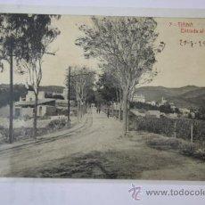 Postales: TARJETA POSTAL DE TIANA - ENTRADA AL POBLE, ED. THOMAS - BARCELONA. Lote 30356776