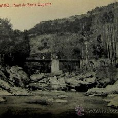 Postales: FIGARÓ: BARCELONA. PONT DE SANTA EUGENIA. FOTOTIPIA THOMAS Nº 2 . AÑOS 20. Lote 30386957