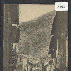 Postales: ESTERRI D´ANEU - CARRER MAJOR - 3 -COMERS CASES SANSI - (8861). Lote 30396010