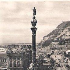 Postales: TARJERTA POSTAL BARCELONA. Nº 74. MONUMENTO A COLON. ED. ZERKOWITZ.. Lote 30396591