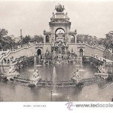 Postales: TARJERTA POSTAL BARCELONA. Nº 41. PARQUE, CASCADA. ED. ZERKOWITZ.. Lote 30396665