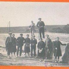 Postales: POSTAL FOTOGRAFICA - GRUPO DE GENTE EN LA CONRERIA ( BARCELONA ) AÑO 1928 SIN CIRCULAR. Lote 30405528