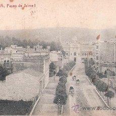 Postales: TARJETA POSTAL. BARCELONA. Nº 6. PASEO DE JAIME I. ED. THOMAS. . Lote 30416635