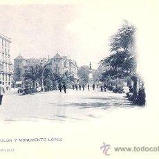 Postales: TARJETA POSTAL. BARCELONA. Nº 39. PASEO DE COLON Y MONUMENTO A LOPEZ. ED. HAUSER Y MENET.. Lote 30451967