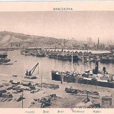 Postales: TARJETA POSTAL. BARCELONA. PUERTO. ED. L. ROISIN.. Lote 30494803