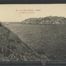 Postales: LES ILLES MEDAS - 21 - DETALL - ROISIN - (8937). Lote 30498907