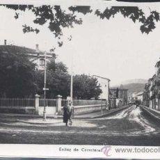 Postales: OLOT (GERONA).- ENLLAC DE CARRETERES. Lote 30582355