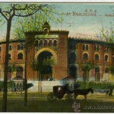 Postales: POSTAL BARCELONA PLAZA DE TOROS ARENAS. Lote 30631896