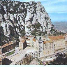 Postales: POSTAL DE MONTSERRAT, CIRCULADA CON SELLO. Lote 30658174