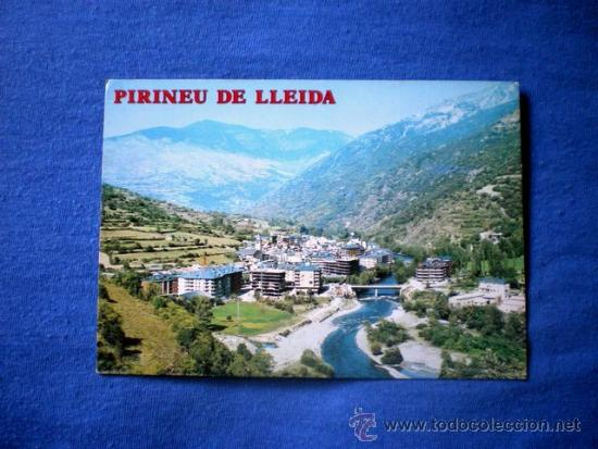 POSTAL LLEIDA SORT VISTA GENERAL NO CIRCULADA (Postales - España - Cataluña Moderna (desde 1940))