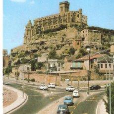 Postales: POSTAL DE MANRESA Nº 3 FOTO COLOR LLOBET MANRESA, CIRCULADA SIN SELLO. Lote 30723190