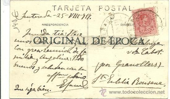 Postales: (PS-27051)POSTAL FOTOGRAFICA DE SENTERADA-PASEO DE LA CARRETERA E IGLESIA PARROQUIAL - Foto 2 - 30739961