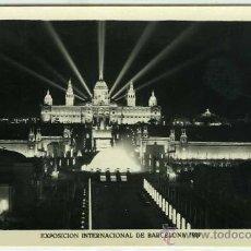 Postales: POSTAL BARCELONA EXPOSICION INTERNACIONAL 1929 PALACIO NACIONAL. Lote 30756647