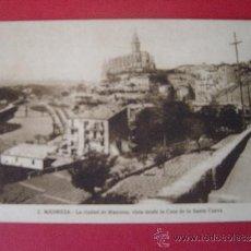 Postales: POSTAL-MANRESA-LA CIUDAD DE MANRESA, VISTA DESDE LA CASA DE LA SANTA CUEVA. Lote 30756908