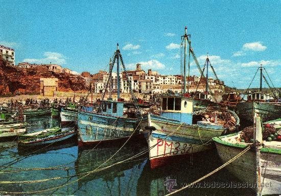 AMETLLA DE MAR (TARRAGONA), VISTA PARCIAL, FOTO COLOR RAYMOND (Postales - España - Cataluña Moderna (desde 1940))