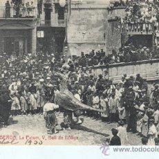 Postales: MUY BUENA POSTAL DE BERGA - DE ATV 2792 - LA PATUMV.VALL DE L,ALIGA CIRCULADA EN 1933. Lote 30785116