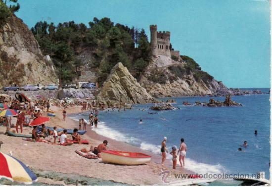 CATALUÑA. GERONA. COSTA BRAVA. LA PLAYA. (Postales - España - Cataluña Moderna (desde 1940))