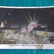 Postales: BARCELONA-EXPOSICION INTERNACIONAL 1929. Lote 30906870