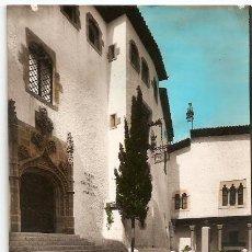 Postcards - 9 SITGES. Museo Cau Ferrat. Foto Raymond. Escrita 1963. Vell i Bell - 30892746
