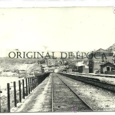 Postales: (PS-27246)POSTAL DE RIBARROJA DEL EBRO-ESTACION DE FERROCARRIL. Lote 30957823