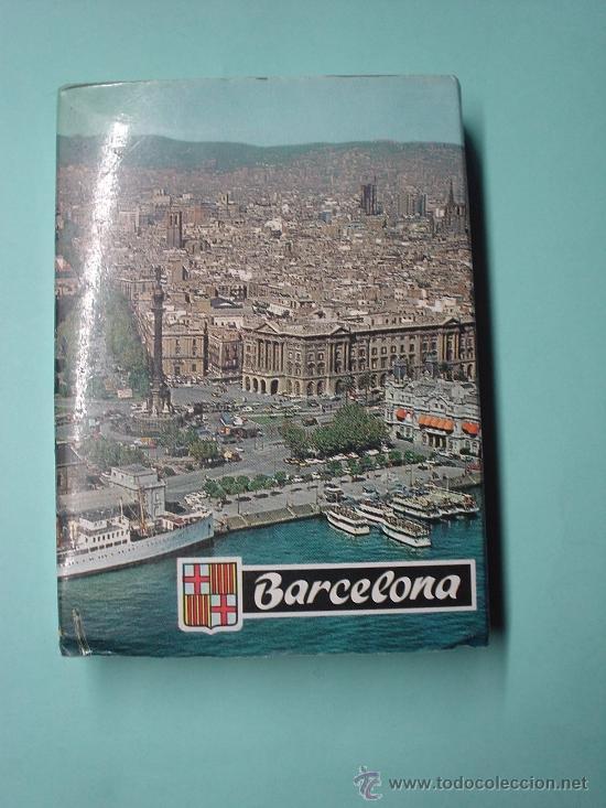 MINI LIBRO CON MÁS DE 21 FOTOGRAFÍAS DE BARCELONA. LIBRETO DE POSTALES. POSTAL (Postales - España - Cataluña Moderna (desde 1940))
