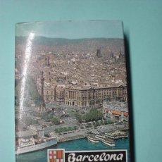 Postales: MINI LIBRO CON MÁS DE 21 FOTOGRAFÍAS DE BARCELONA. LIBRETO DE POSTALES. POSTAL. Lote 31061898