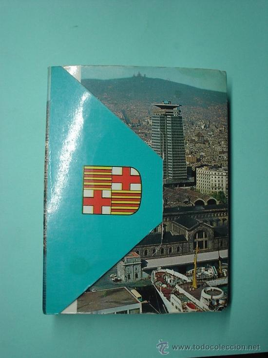 Postales: Mini libro con más de 21 fotografías de Barcelona. LIBRETO DE POSTALES. POSTAL - Foto 2 - 31061898