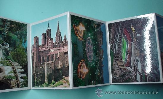Postales: Mini libro con más de 21 fotografías de Barcelona. LIBRETO DE POSTALES. POSTAL - Foto 3 - 31061898