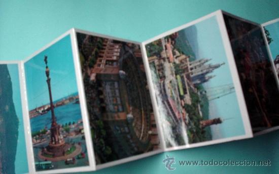 Postales: Mini libro con más de 21 fotografías de Barcelona. LIBRETO DE POSTALES. POSTAL - Foto 4 - 31061898