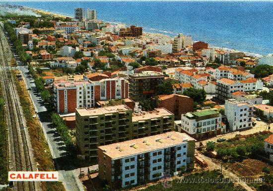 CALAFELL, TARRAGONA, VISTA PARCIAL, FOTO COLOR RAYMOND, 1973 (Postales - España - Cataluña Moderna (desde 1940))