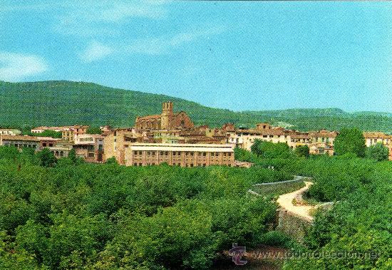 ALCOVER, TARRAGONA, VISTA PARCIAL, FOTO COLOR RAYMOND (Postales - España - Cataluña Moderna (desde 1940))