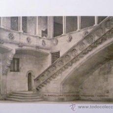 Postales: POSTAL; BARCELONA - DIPUTACION PROVINCIAL (ESCALERA), ESCRITA. Lote 31150951
