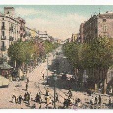 Postales: BARCELONA.- RONDA DE SAN ANTONIO.. Lote 31174395