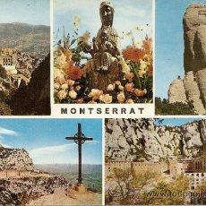 Postales: MONTSERRAT (BARCELONA). Lote 31205617
