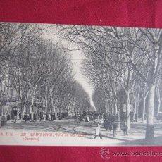 Postales: BARCELONA -CALLE DE LAS CORTES. Lote 31321535