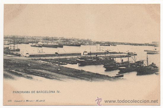 PANORAMA DE BARCELONA IV. (Postales - España - Cataluña Antigua (hasta 1939))