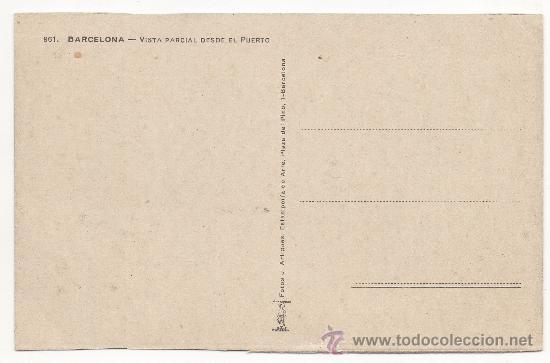 Postales: BARCELONA. - VISTA PARCIAL DESDE EL PUERTO. - Foto 2 - 31369808