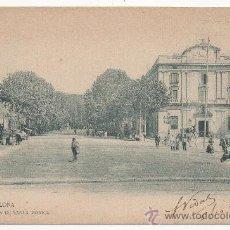 Postales: BARCELONA.- RAMBLA DE SANTA MÓNICA. (C.1900).. Lote 31393884