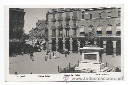 REUS. PLAZA PRIM. (Postales - España - Cataluña Antigua (hasta 1939))