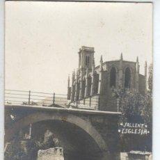 Postales: MUY BUENA FOTO POSTAL DE SALLENT - ESGLESIA . Lote 31581577