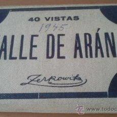 Postales: ACORDEON DE POSTALES VALLE DE ARAN 40 VISTAS FOT ZERKOVICH. Lote 53781519