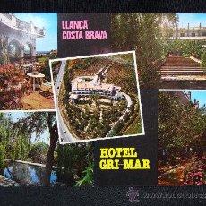 Postales: POSTAL HOTEL GRI-MAR. LLANÇA.ED. MALLAL. GIRONA. . Lote 31674668