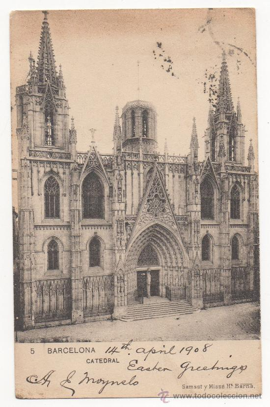 BARCELONA.- CATEDRAL. (C.1905). (Postales - España - Cataluña Antigua (hasta 1939))